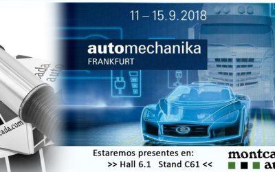 Presentes en Automechanika Frankfurt 2018