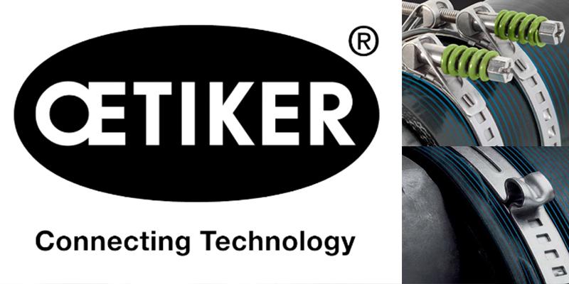 Nuevos distribuidores de Abrazaderas Oetiker