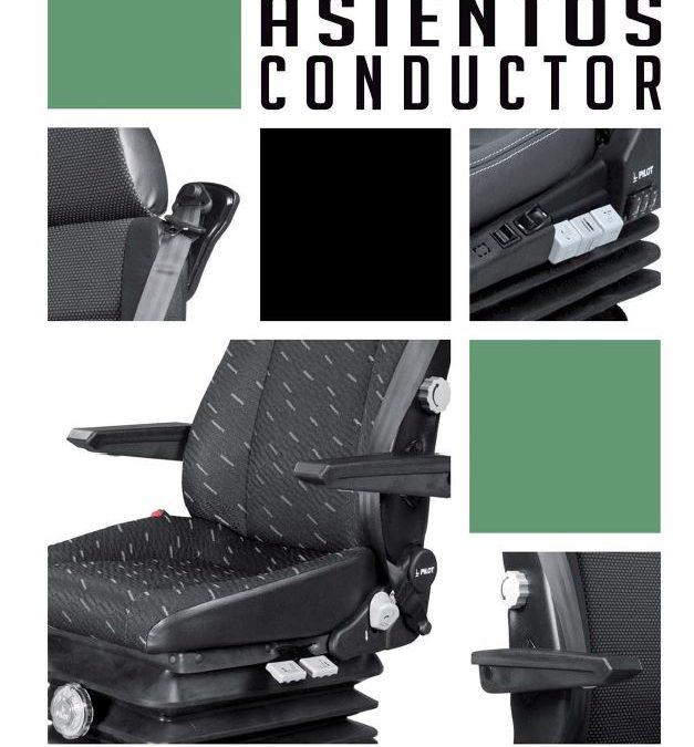 Nuevo catálogo de asientos de conductor PILOT