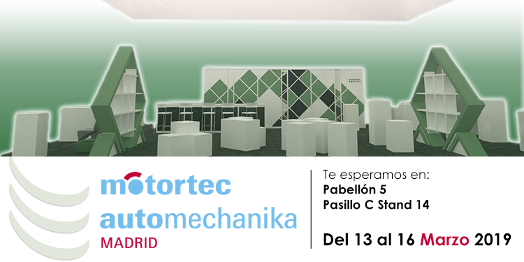 Presentes en Motortec Automechanika Madrid