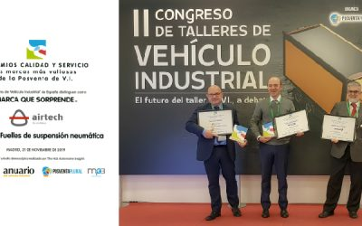 Premio Calidad y Servicio en Fuelles de Suspensión