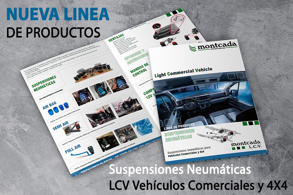 Lanzamiento nueva linea Suspensión Neumática Montcada LCV