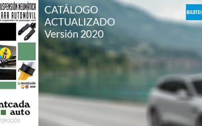 Última actualización del catálogo de suspensión neumática específico de la marca Bilstein