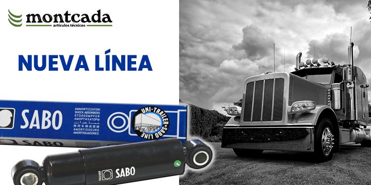 Nueva línea Amortiguadores SABO UniTrailer Montcada