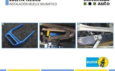 La correcta instalación del fuelle neumático Bilstein