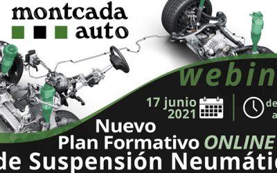 Webinar | Nuevo Plan Formativo OnLine de Suspensión Neumática